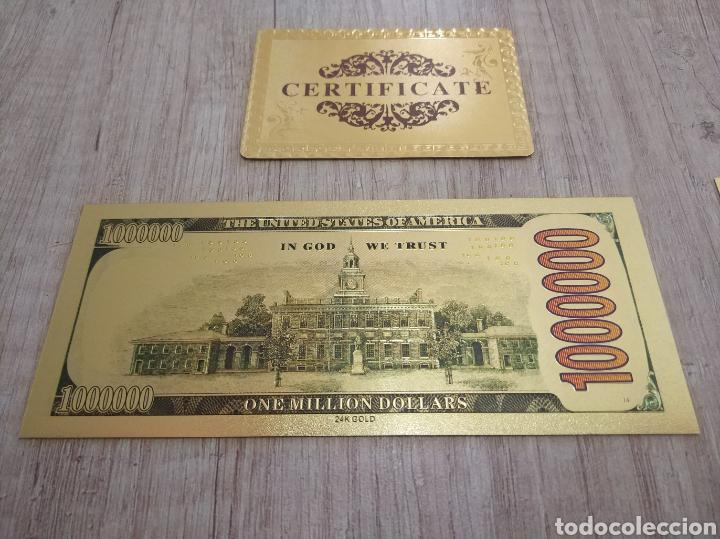 Lotes de Billetes: Lote Colección BILLETES en ORO puro 99,9% 24. con Certificado de Autenticidad - Foto 19 - 207203468