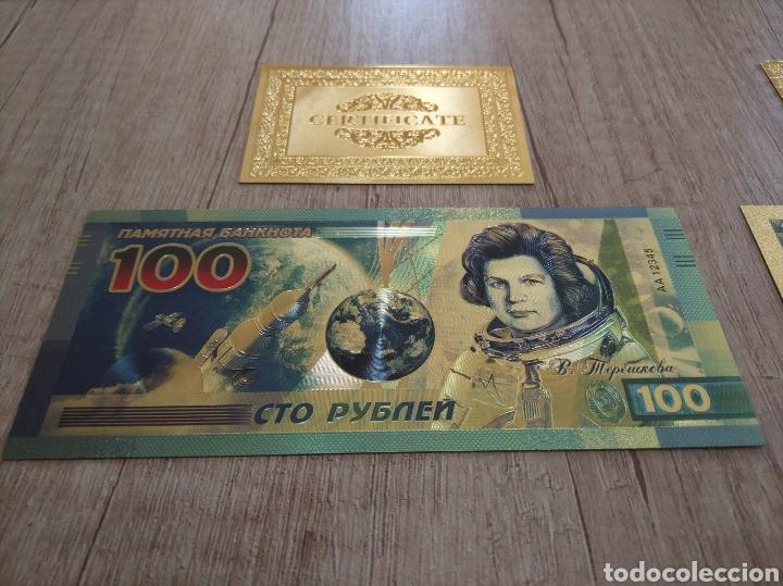 Lotes de Billetes: Lote Colección BILLETES en ORO puro 99,9% 24. con Certificado de Autenticidad - Foto 22 - 207203468