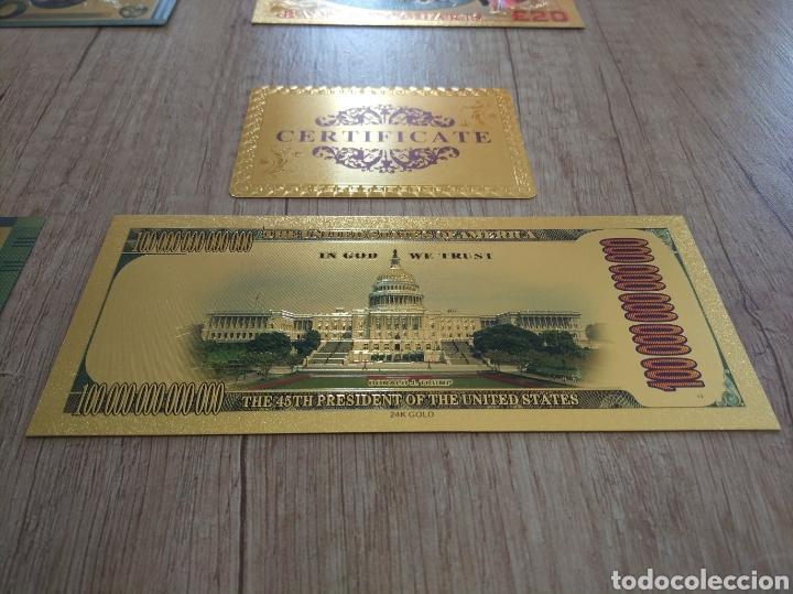 Lotes de Billetes: Lote Colección BILLETES en ORO puro 99,9% 24. con Certificado de Autenticidad - Foto 23 - 207203468