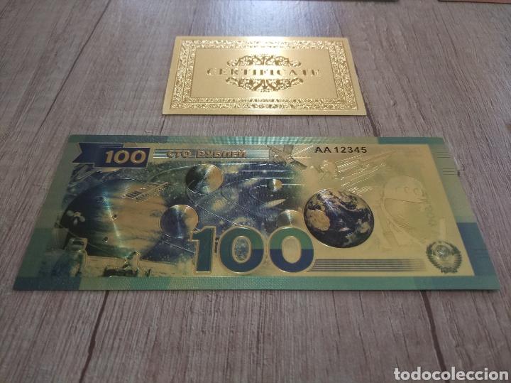 Lotes de Billetes: Lote Colección BILLETES en ORO puro 99,9% 24. con Certificado de Autenticidad - Foto 25 - 207203468