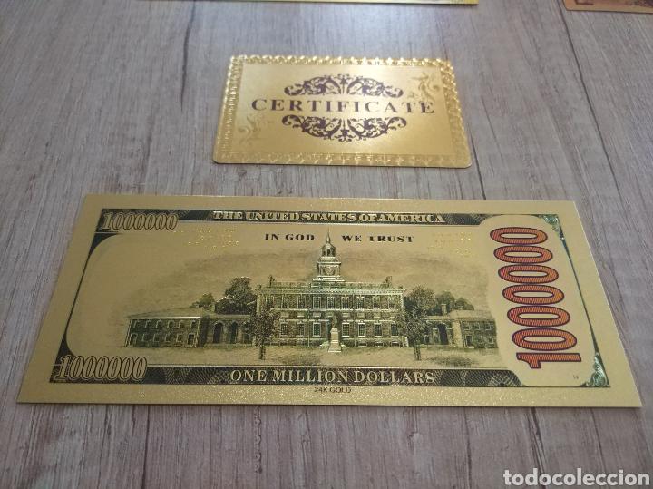Lotes de Billetes: Lote Colección BILLETES en ORO puro 99,9% 24. con Certificado de Autenticidad - Foto 26 - 207203468
