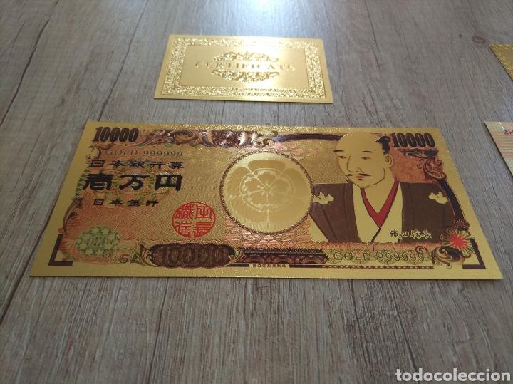 Lotes de Billetes: Lote Colección BILLETES en ORO puro 99,9% 24. con Certificado de Autenticidad - Foto 28 - 207203468