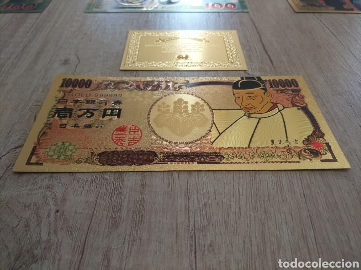 Lotes de Billetes: Lote Colección BILLETES en ORO puro 99,9% 24. con Certificado de Autenticidad - Foto 30 - 207203468