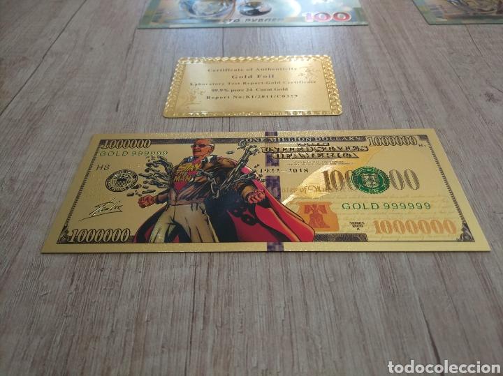 Lotes de Billetes: Lote Colección BILLETES en ORO puro 99,9% 24. con Certificado de Autenticidad - Foto 31 - 207203468