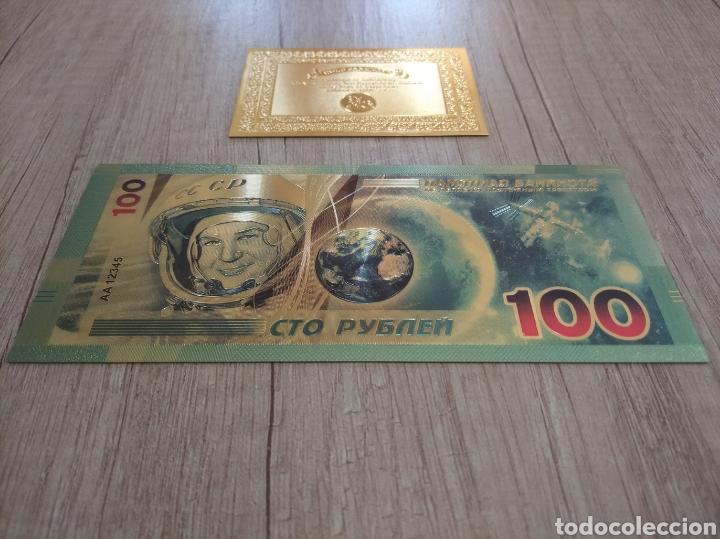 Lotes de Billetes: Lote Colección BILLETES en ORO puro 99,9% 24. con Certificado de Autenticidad - Foto 33 - 207203468