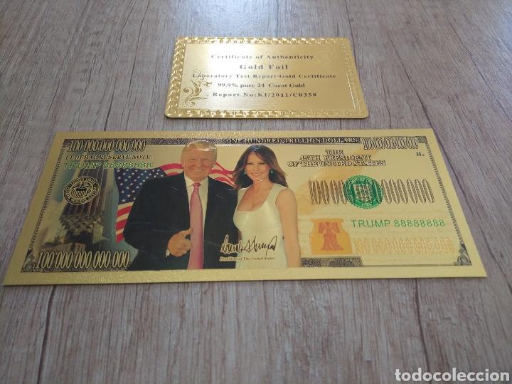 Lotes de Billetes: Lote Colección BILLETES en ORO puro 99,9% 24. con Certificado de Autenticidad - Foto 34 - 207203468