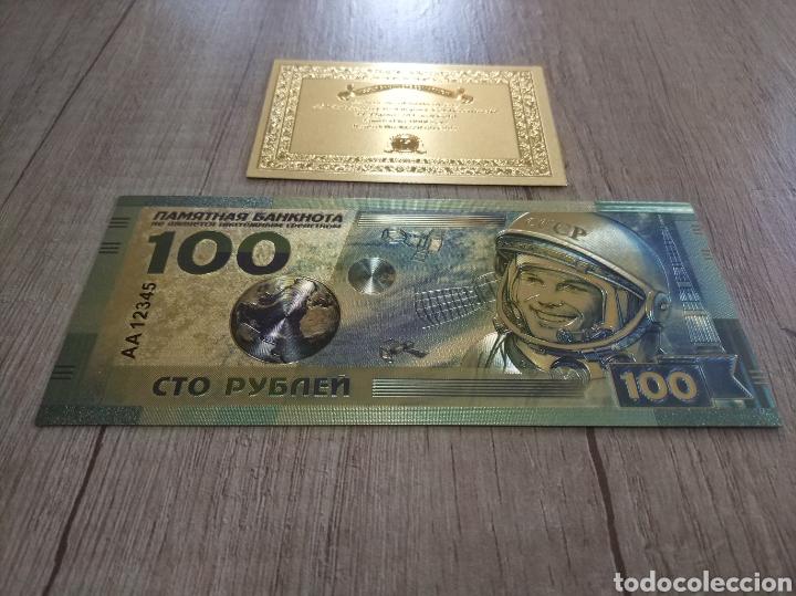 Lotes de Billetes: Lote Colección BILLETES en ORO puro 99,9% 24. con Certificado de Autenticidad - Foto 35 - 207203468