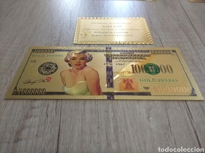Lotes de Billetes: Lote Colección BILLETES en ORO puro 99,9% 24. con Certificado de Autenticidad - Foto 36 - 207203468