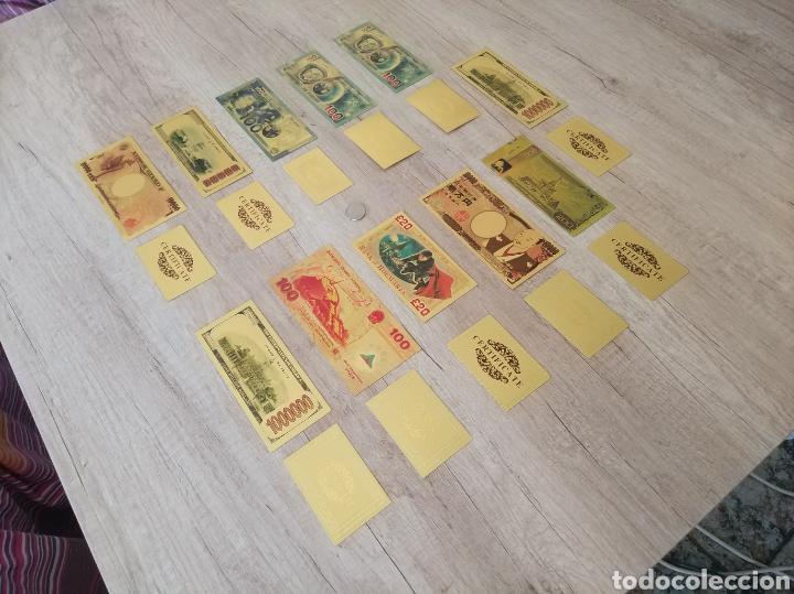Lotes de Billetes: Lote Colección BILLETES en ORO puro 99,9% 24. con Certificado de Autenticidad - Foto 49 - 207203468