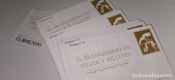 EL FRANQUISMO EN SELLOS Y BILLETES. LOTE 26 SOBRES (SIN ABRIR) (Numismática - Notafilia - Series y Lotes)