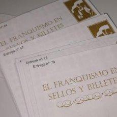 Lotes de Billetes: EL FRANQUISMO EN SELLOS Y BILLETES. LOTE 26 SOBRES (SIN ABRIR). Lote 211607037