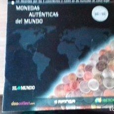 Lotes de Billetes: COLECCION COMPLETA DE MONEDAS DEL MUNDO. Lote 216711053