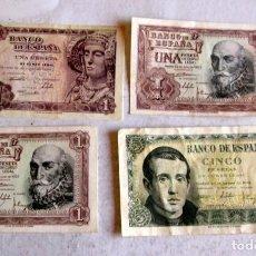 Lotes de Billetes: 4 ESPAÑOLES. Lote 216754518