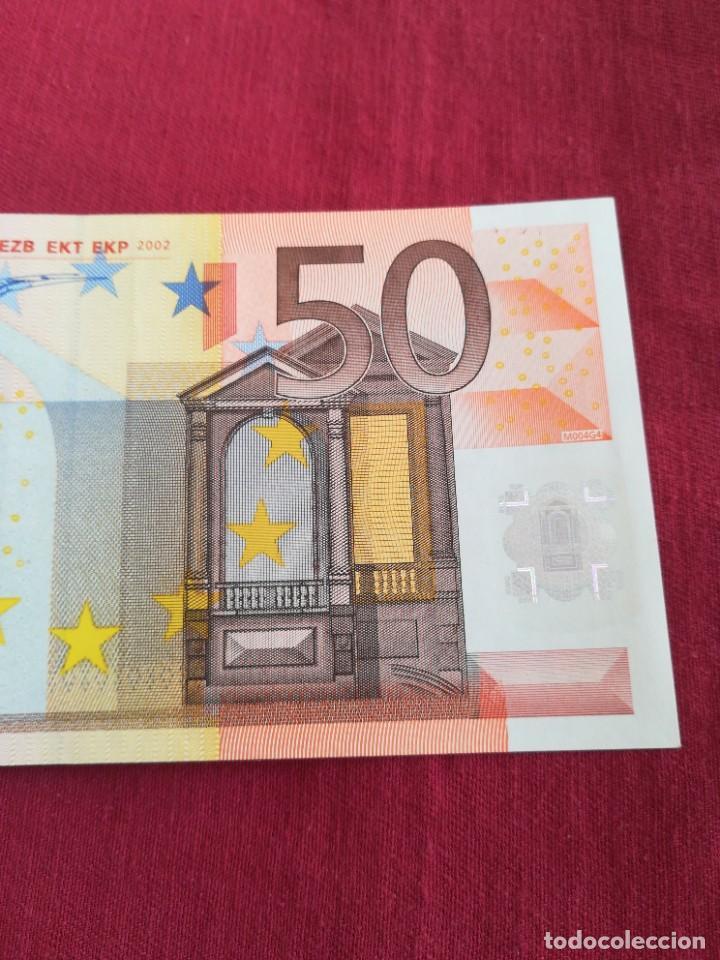 Lotes de Billetes: Billete 50 euro 2002 letra V España, firma DUISENBERG - Foto 4 - 232849885