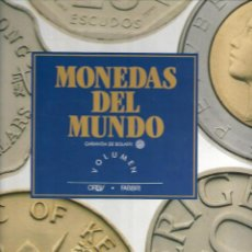 Lotes de Billetes: ALBUM DE LAS MONEDAS DEL MUNDO ORIGINALES CON 54+2 PIEZAS Y CON EL ABC DEL COLECCIONISTA VER FOTOS. Lote 218629328