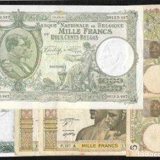 Lotes de Billetes: 6 BILLETES 5-1000 FRANCOS 1000 PESETAS MBC/MBC+. Lote 219095703