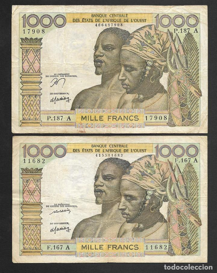 Lotes de Billetes: 6 BILLETES 5-1000 FRANCOS 1000 PESETAS MBC/MBC+ - Foto 4 - 219095703