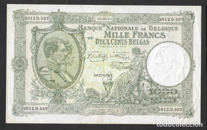 Lotes de Billetes: 6 BILLETES 5-1000 FRANCOS 1000 PESETAS MBC/MBC+ - Foto 6 - 219095703