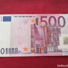 Lotes de Billetes: 500 EURO 2002 SERÍA X ALEMANIA FIRMA TRICHET. Lote 220381403
