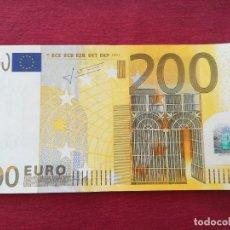 Lotes de Billetes: 200 EURO 2002 SERÍA X ALEMANIA FIRMA TRICHET. Lote 220381675