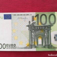 Lotes de Billetes: 100 EURO 2002 SERÍA X ALEMANIA FIRMA DRAGI. Lote 220382327