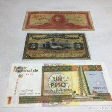 Lotes de Billetes: LOTE BILLETES CUBA - VARIAS EPOCAS. Lote 221552080