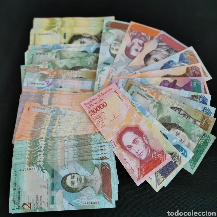 D25. VENEZUELA. 1,89 MILLONES DE BOLÍVARES, EN 134 PIEZAS. INCLUYE SC- Y SC Y CORRELATIVOS. 138G (Numismática - Notafilia - Series y Lotes)
