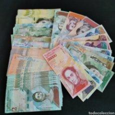 Lotes de Billetes: D25. VENEZUELA. 1,89 MILLONES DE BOLÍVARES, EN 134 PIEZAS. INCLUYE SC- Y SC Y CORRELATIVOS. 138G. Lote 222037267