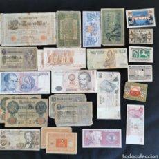 Lotes de Billetes: D26. LOTE DE 25 BILLETES MUNDIALES DESDE 1904. Lote 222037605