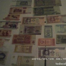 Lotes de Billetes: LOTE 20 BILLETES NUEVOS EN PLANCHA Y ANTIGUOS. Lote 222494818