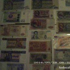 Lotes de Billetes: LOTE 20 BILLETES NUEVOS EN PLANCHA Y ANTIGUOS. Lote 222495017