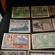 Lotes de Billetes: LOTE NOTGELD BILLETES ALEMANES 48. Lote 222588092
