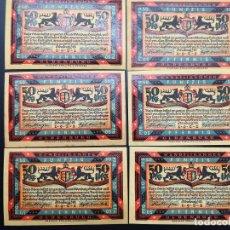 Lotes de Billetes: LOTE COLECCIÓN COMPLETA NOTGELD ALEMANIA ESTADO FEDERAL OLDENBURG 1921 UNC. Lote 225767630