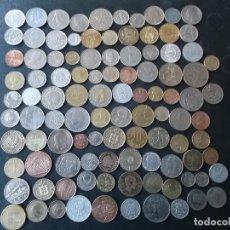 Lotes de Billetes: CONJUNTO DE 104 MONEDAS MUNDIALES DIFERENTES DE A 20 A 30 PAISES DISTINTOS VER FOTOS. Lote 225957776