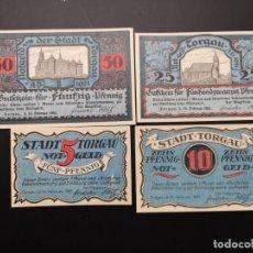 Lotes de Billetes: LOTE COLECCIÓN NOTGELD ALEMANIA PROVINCIA PRUSIA SAXONY TORGAU UNC. Lote 226239165