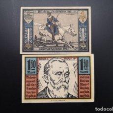 Lotes de Billetes: LOTE COLECCIÓN NOTGELD ALEMANIA PROVINCIA PRUSIA POMERANIA STOLP UNC. Lote 226244920