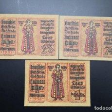 Lotes de Billetes: LOTE COLECCIÓN NOTGELD ALEMANIA PROVINCIA PRUSIA HANOVER LEER UNC. Lote 226245350