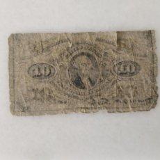 Lotes de Billetes: BILLETE USA CONFEDERADOS 1863 WASHINTONG. Lote 228137787