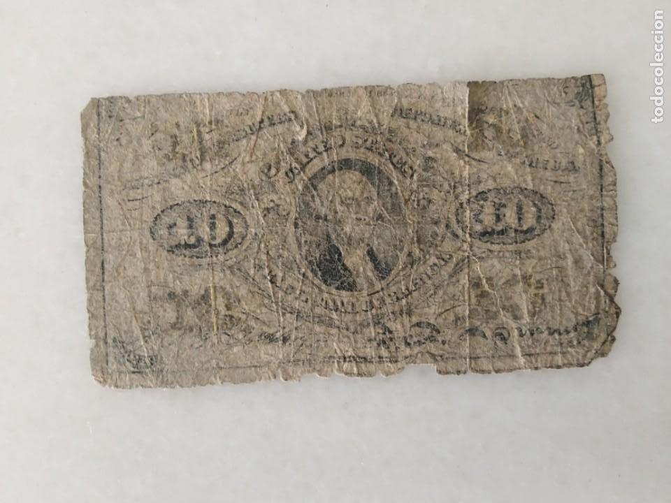 Lotes de Billetes: BILLETE USA CONFEDERADOS 1863 WASHINTONG - Foto 2 - 228137787