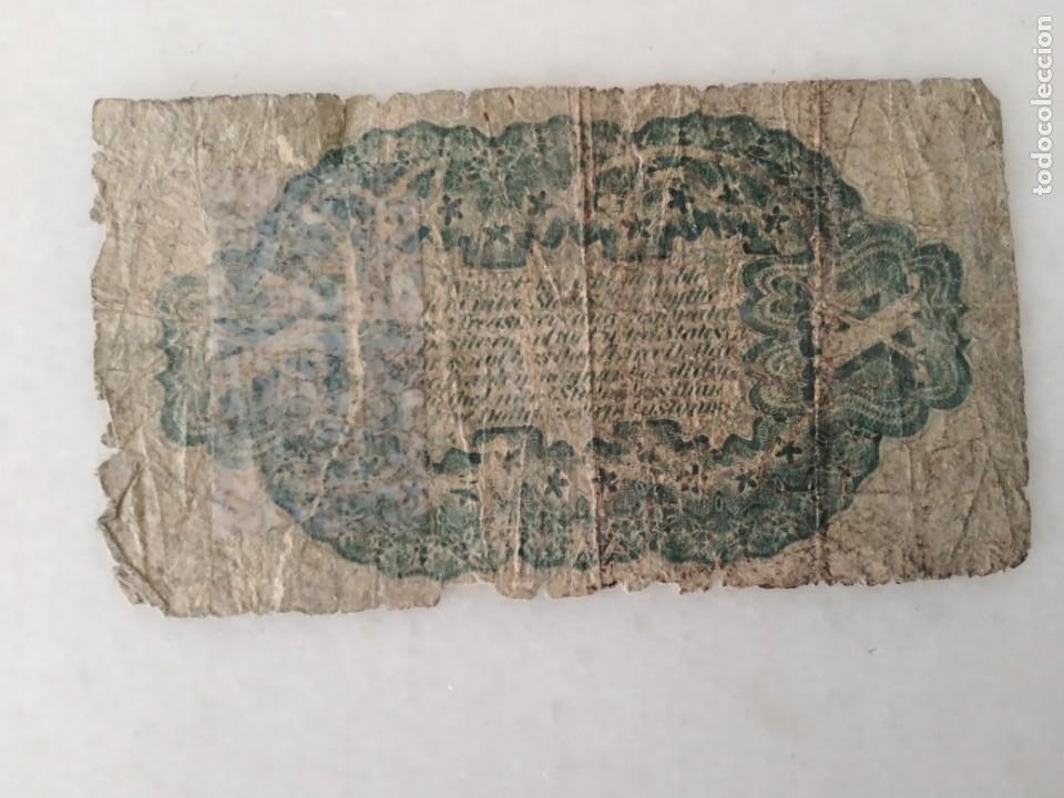 Lotes de Billetes: BILLETE USA CONFEDERADOS 1863 WASHINTONG - Foto 3 - 228137787