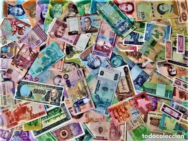 Lotes de Billetes: LOTE 125 BILLETES DEL MUNDO GENUINOS Y ORIGINALES DE CALIDAD UNC TODOS DIFERENTES - Foto 17 - 233808295