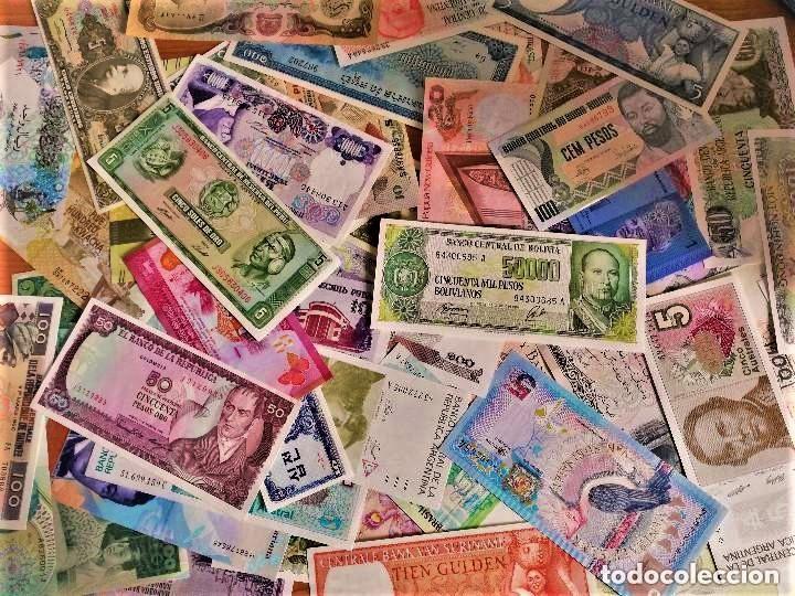 Lotes de Billetes: LOTE 125 BILLETES DEL MUNDO GENUINOS Y ORIGINALES DE CALIDAD UNC TODOS DIFERENTES - Foto 18 - 233808295