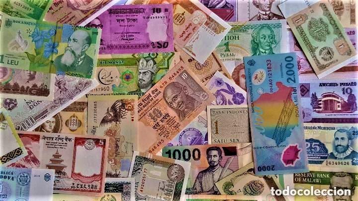 Lotes de Billetes: LOTE 125 BILLETES DEL MUNDO GENUINOS Y ORIGINALES DE CALIDAD UNC TODOS DIFERENTES - Foto 19 - 233808295