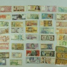 Lotes de Billetes: COLECCIÓN LOTE 41 BILLETES DE DISTINTOS PAÍSES. Lote 235543225