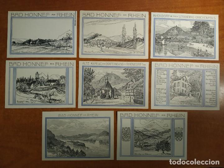 Lotes de Billetes: ALEMANIA. 8 BILLETES NOTGELD STADT HONNEF A. RHEIN (SERIE COMPLETA). SIN CIRCULAR!!! - Foto 2 - 236037770