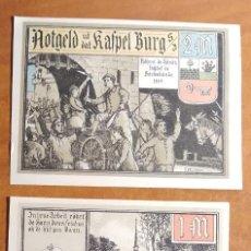 Lotes de Billetes: ALEMANIA. 3 BILLETES NOTGELD STADT BURG IN SÜDERDITHMARSCHEN (SERIE COMPLETA). SIN CIRCULAR!!!. Lote 236041105