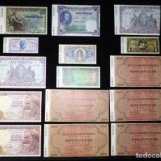 Lotes de Billetes: LOTE DE 15 BILLETES ESPAÑOLES FACSÍMILES. PESETA. CONSERVACIÓN PLANCHA (5). Lote 236903355