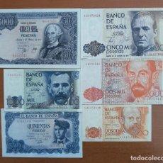 Lotes de Billetes: LOTE BILLETES JUAN CARLOS I SC. SERIE 9A 200 PESETAS. Lote 237537485