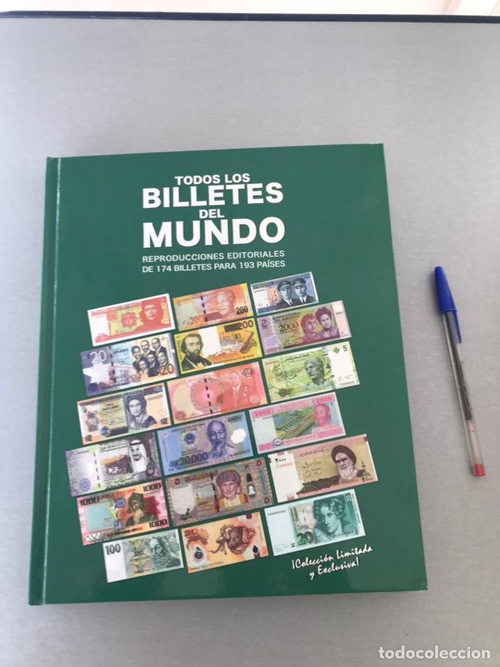 TODOS LOS BILLETES DEL MUNDO. COMPLETO INCAL EDICIONES. (Numismática - Notafilia - Series y Lotes)