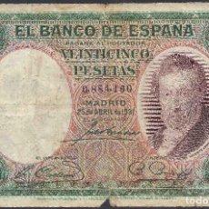 Lotes de Notas: LOTE. BILLETES ESPAÑOLES 1931 - 1992 .. Lote 241482715